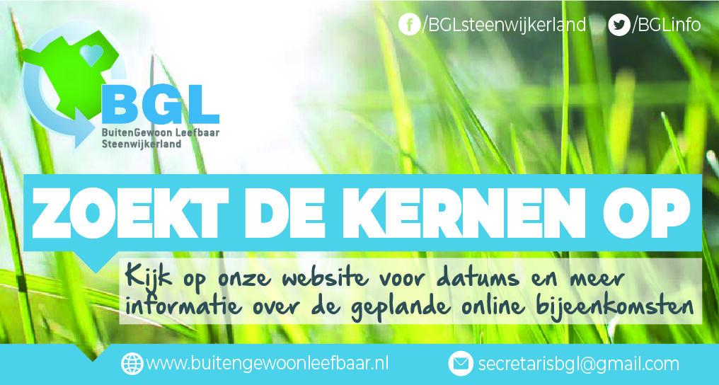 BuitenGewoon Leefbaar bezoekt online de kernen van Steenwijkerland
